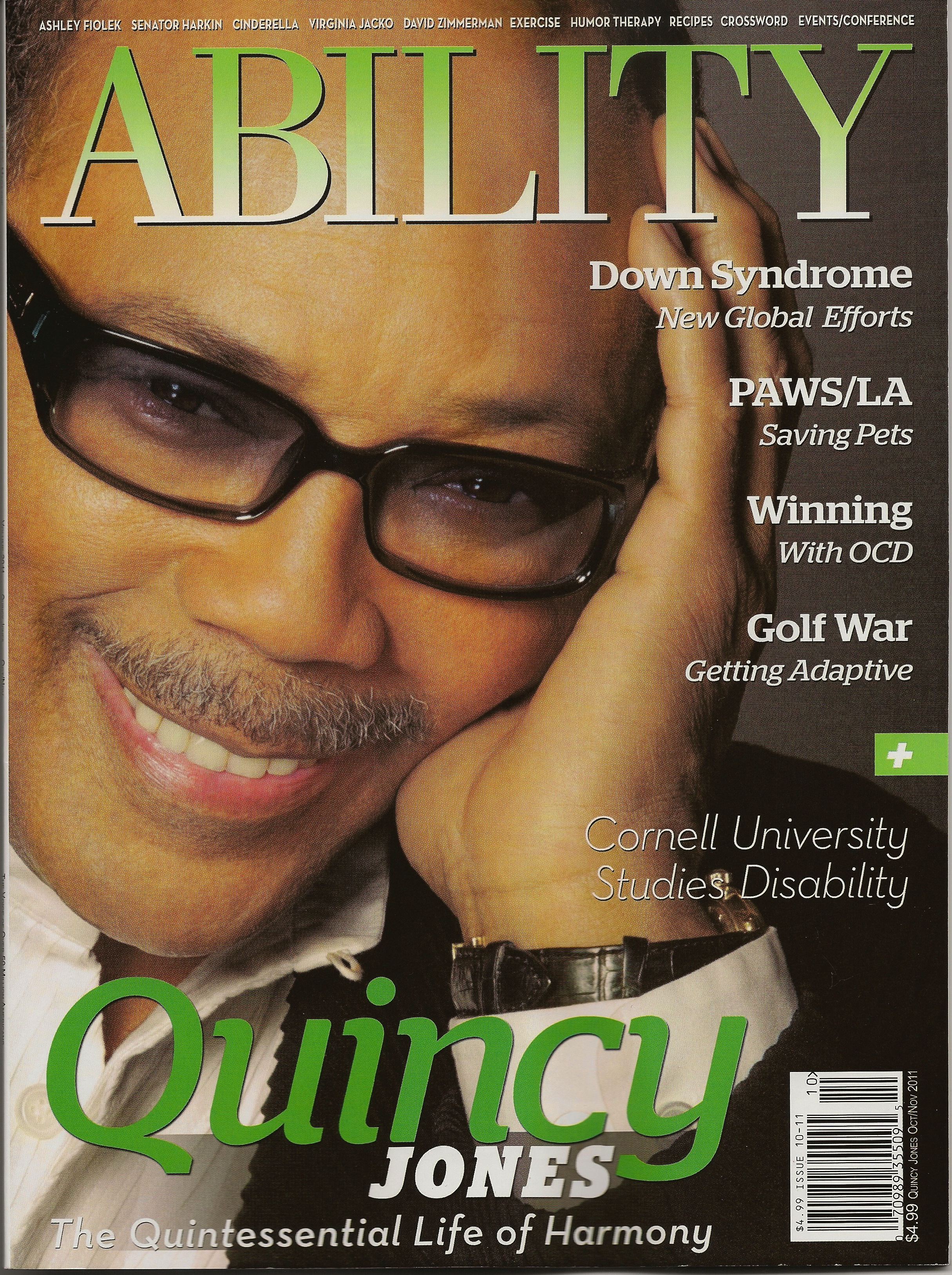 Ability Magazine Cover ... Fleagle contributed frequently to newspapers and magazines, ...